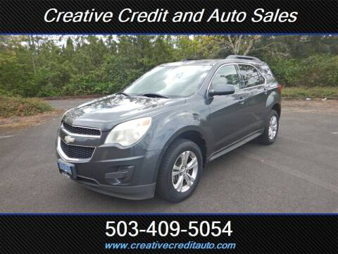 2010 Chevrolet Equinox for sale at Creative Credit & Auto Sales in Salem OR