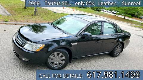 2008 Ford Taurus for sale at Wheeler Dealer Inc. in Acton MA
