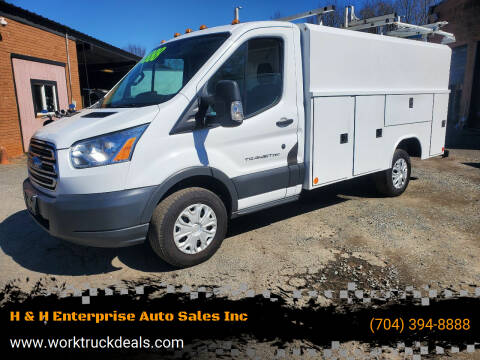 2016 Ford Transit Cutaway for sale at H & H Enterprise Auto Sales Inc in Charlotte NC