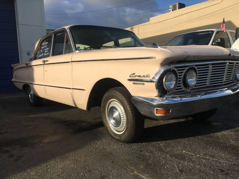 1963 Mercury Comet for sale at TOP TWO USA INC in Oakland Park FL
