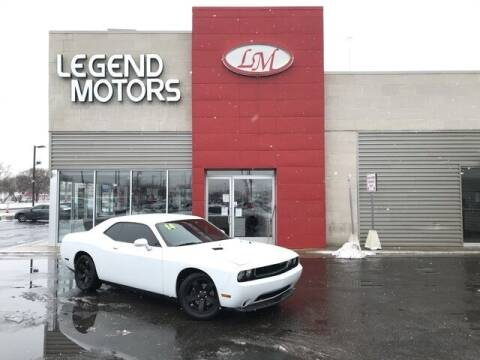 2014 Dodge Challenger for sale at Legend Motors of Detroit - Legend Motors of Ferndale in Ferndale MI