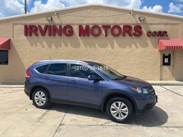 2014 Honda CR-V for sale at Irving Motors Corp in San Antonio TX