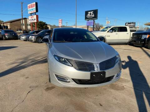 2013 Lincoln MKZ for sale at Car Gallery in Oklahoma City OK