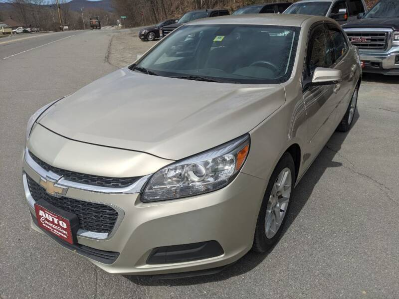 2014 Chevrolet Malibu for sale at AUTO CONNECTION LLC in Springfield VT