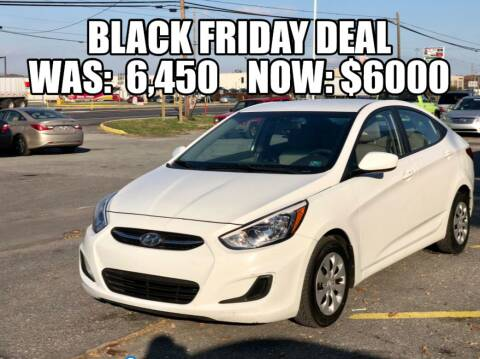 2017 Hyundai Accent for sale at AZ AUTO in Carlisle PA