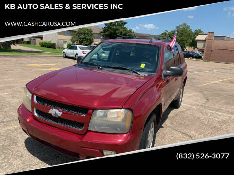2008 Chevrolet TrailBlazer for sale at KB AUTO SALES & SERVICES INC in Houston TX