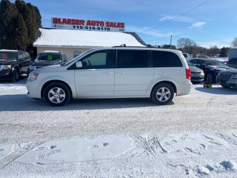 2012 Dodge Grand Caravan for sale at BLAESER AUTO LLC in Chippewa Falls WI