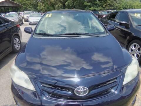 2011 Toyota Corolla for sale at Alabama Auto Sales in Semmes AL