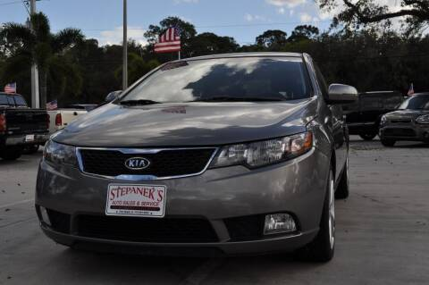 2012 Kia Forte5 for sale at STEPANEK'S AUTO SALES & SERVICE INC. in Vero Beach FL