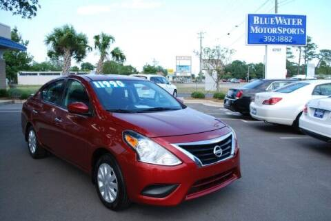 2017 Nissan Versa for sale at BlueWater MotorSports in Wilmington NC