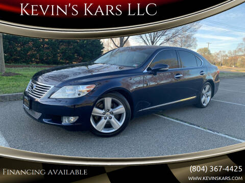 2011 Lexus LS 460 for sale at Kevin's Kars LLC in Richmond VA
