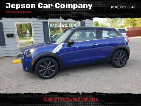 2014 MINI Paceman for sale at Jepson Car Company in Saint Clair MI