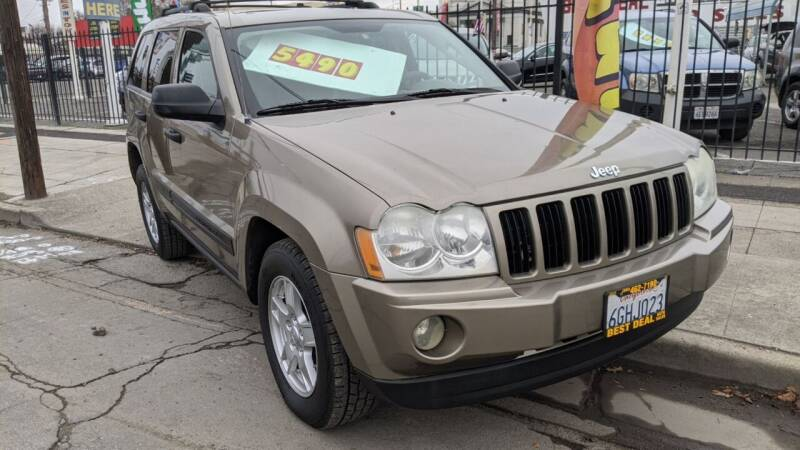 2005 Jeep Grand Cherokee for sale at Best Deal Auto Sales in Stockton CA