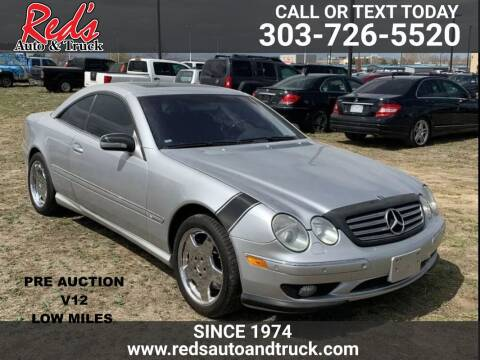 2001 Mercedes-Benz CL-Class for sale at Red's Auto and Truck in Longmont CO