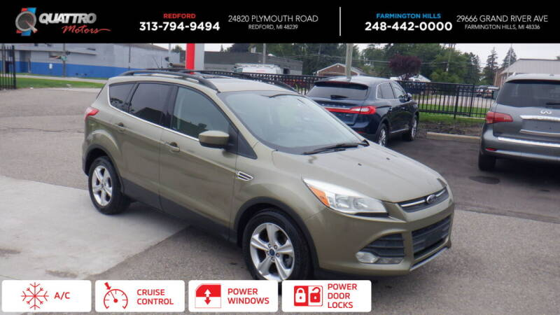 2013 Ford Escape for sale at Quattro Motors 2 in Farmington Hills MI