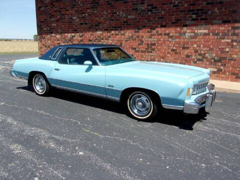 1975 Chevrolet Monte Carlo for sale at Classic Car Deals in Cadillac MI