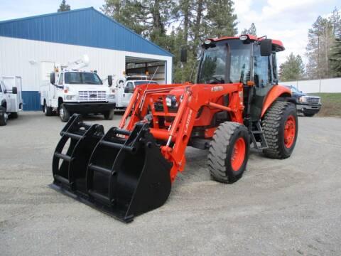 2014 Kubota M6060HDC for sale at BJ'S COMMERCIAL TRUCKS in Spokane Valley WA