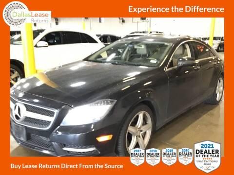 2014 Mercedes-Benz CLS for sale at Dallas Auto Finance in Dallas TX