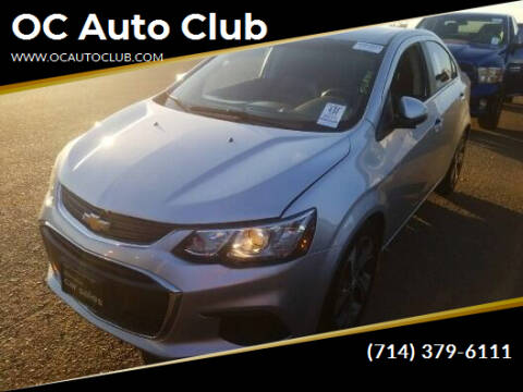 2017 Chevrolet Sonic for sale at OC Auto Club in Midway City CA