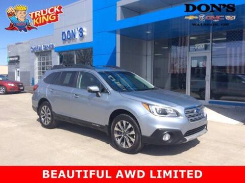2015 Subaru Outback for sale at DON'S CHEVY, BUICK-GMC & CADILLAC in Wauseon OH