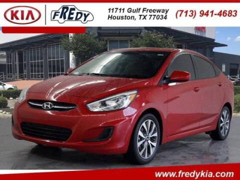2017 Hyundai Accent for sale at FREDYS CARS FOR LESS in Houston TX