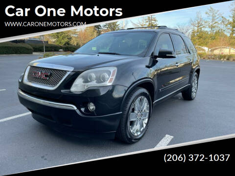 2010 GMC Acadia for sale at Car One Motors in Seattle WA