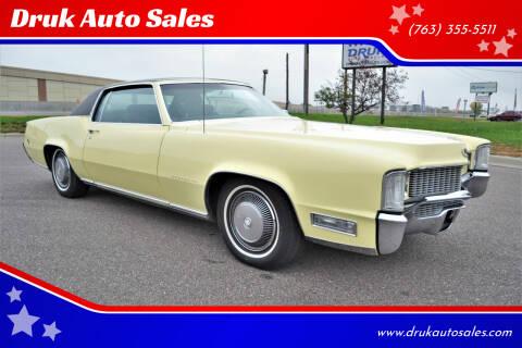 1969 Cadillac Eldorado for sale at Druk Auto Sales in Ramsey MN