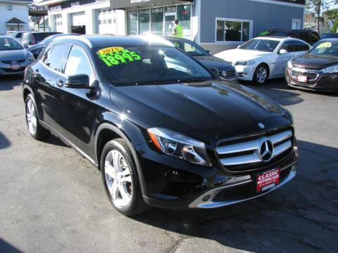 2015 Mercedes-Benz GLA for sale at CLASSIC MOTOR CARS in West Allis WI