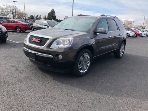 2010 GMC Acadia for sale at Car & Truck Gallery in Albuquerque NM