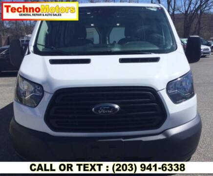 2016 Ford Transit Cargo for sale at Techno Motors in Danbury CT