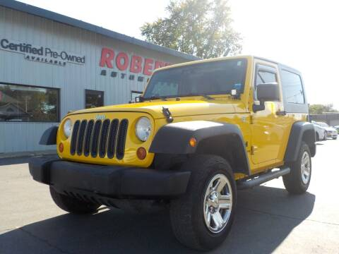 2009 Jeep Wrangler for sale at Roberti Automotive in Kingston NY
