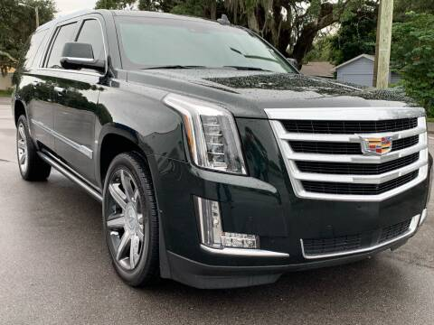 2016 Cadillac Escalade ESV for sale at Consumer Auto Credit in Tampa FL