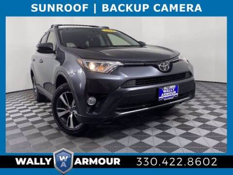 2018 Toyota RAV4 for sale at Wally Armour Chrysler Dodge Jeep Ram in Alliance OH