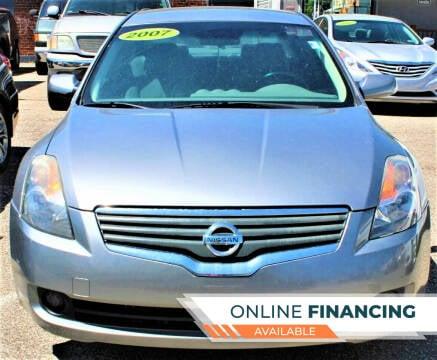 2007 Nissan Altima for sale at EZ PASS AUTO SALES LLC in Philadelphia PA