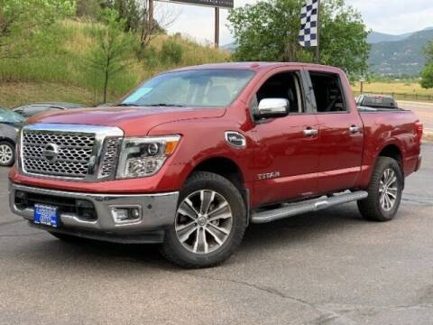 2017 Nissan Titan for sale at Lakeside Auto Brokers Inc. in Colorado Springs CO