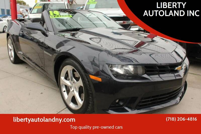 2014 Chevrolet Camaro for sale at LIBERTY AUTOLAND INC in Jamaica NY