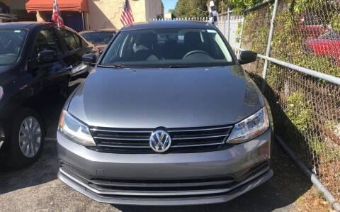 2016 Volkswagen Jetta for sale at Auto Credit & Finance Corp. in Miami FL