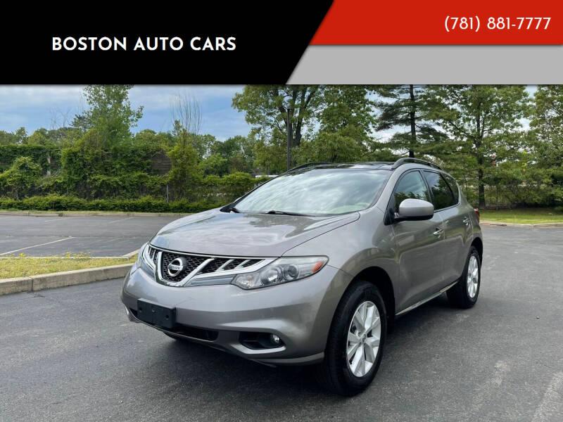 2012 Nissan Murano for sale at Boston Auto Cars in Dedham MA