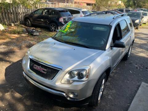 2008 GMC Acadia for sale at Auto Mart in North Charleston SC
