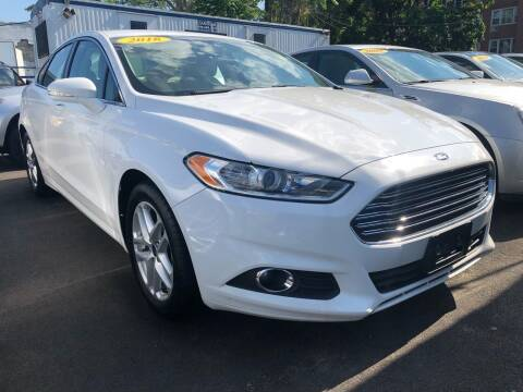 2016 Ford Fusion for sale at OFIER AUTO SALES in Freeport NY
