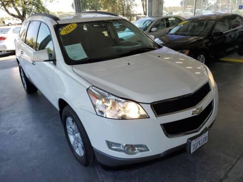 2012 Chevrolet Traverse for sale at Sac River Auto in Davis CA