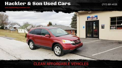 2011 Honda CR-V for sale at Hackler & Son Used Cars in Red Lion PA