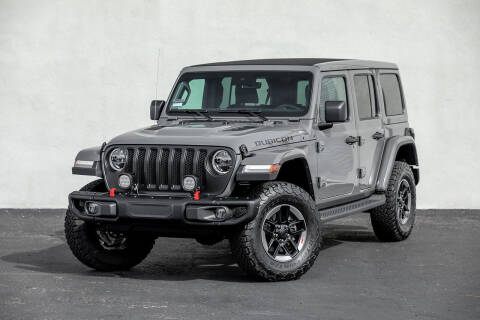 2019 Jeep Wrangler Unlimited for sale at Nuvo Trade in Newport Beach CA