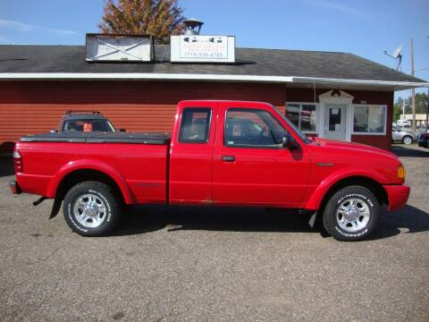 2001 Ford Ranger for sale at G and G AUTO SALES in Merrill WI