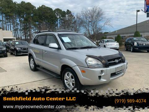 2008 Hyundai Tucson for sale at Smithfield Auto Center LLC in Smithfield NC
