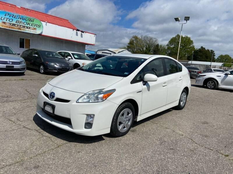 2010 Toyota Prius for sale at Premium Auto Brokers in Virginia Beach VA