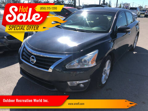 2015 Nissan Altima for sale at Outdoor Recreation World Inc. in Panama City FL