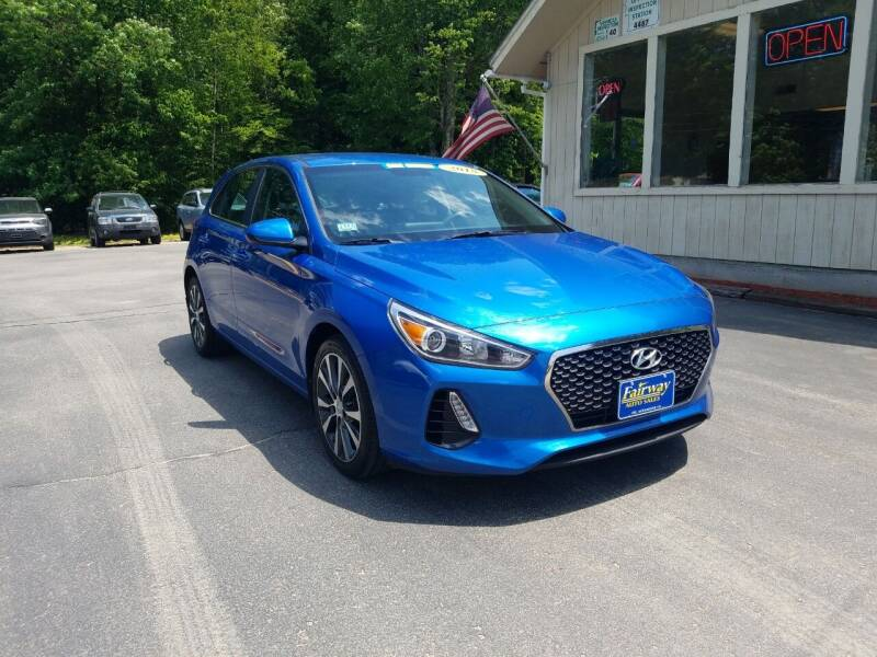 2018 Hyundai Elantra GT for sale at Fairway Auto Sales in Rochester NH