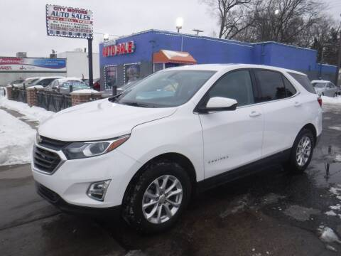 2019 Chevrolet Equinox for sale at City Motors Auto Sale LLC in Redford MI