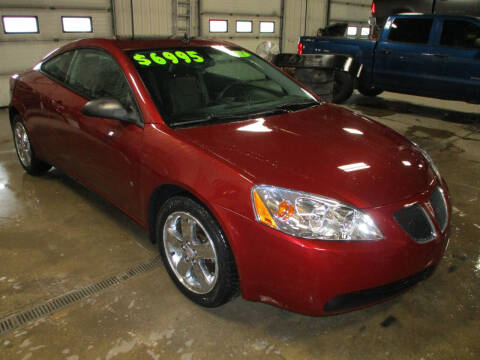 2008 Pontiac G6 for sale at Granite Auto Sales in Redgranite WI